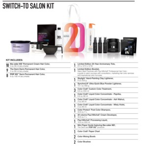 SWITCH To Salon Kit PM 2018