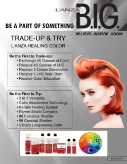 ! LNZ Trade & Try The Color 2018 BUY15