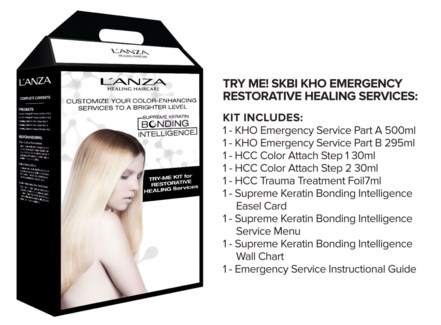 LNZ Keratin Oil Emergency Back Bar Kit