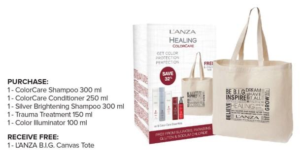 LNZ COLORCARE FAB 5 Tote Bag Deal JA18