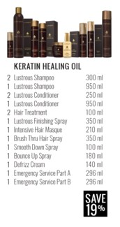! LNZ KHO Keratin Oil Collection 2018