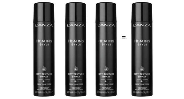 ! 3+1 LNZ 300ml Dry Texture Spray DROPIN