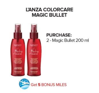 ! 2 LNZ Colorcare Magic Bullet + AM JA18
