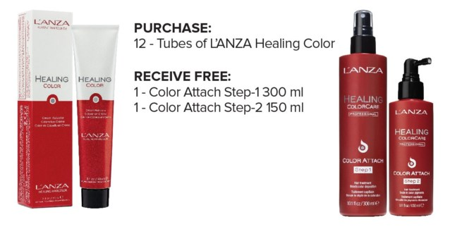 ! LNZ Color Attach Step 1 & 2 BUY12COLOR