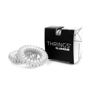Thrings Silver Moon Hair Rings