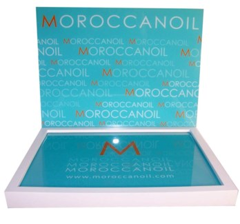Moroccan Oil Counter Display WOOD
