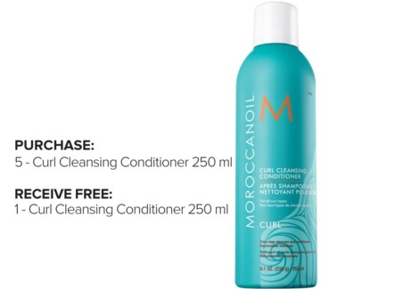 ! 5+1 MOR Curl Cleansing Condition JF18