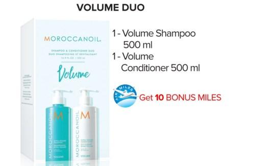$HO ! MOR 500ml Volume Sham Cond Duo + A
