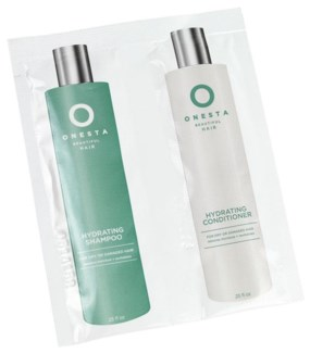 NEW ONESTA HYDRATING SHAMP/COND FOIL