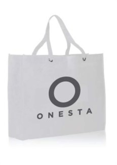 NEW ONESTA LOGO TOTE BAG
