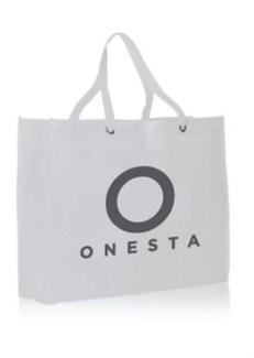 $$NEW ONESTA LOGO TOTE BAG