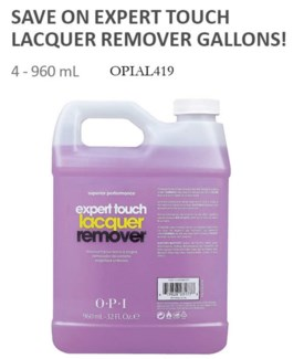 32oz(4ea) Gal Expert Touch Remover