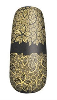 Pure Lacq Nail Apps Gold Lace