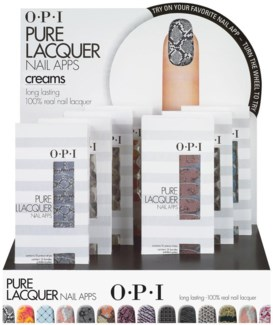 Pure Lacq Nail Apps Creams Display