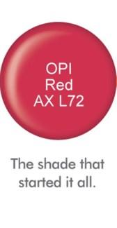 Soak-off Gel OPI Red