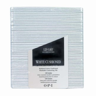 White Cushioned Files Pkg 48 FP