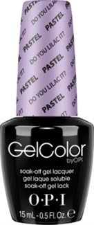 & Do You Lilac It? Gelcolor PASTEL