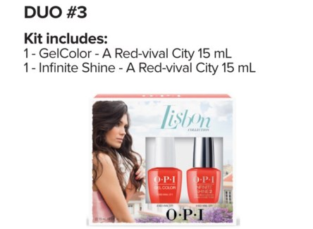$ LISBON Gelcolor + Infinite Duo#3 FEB20