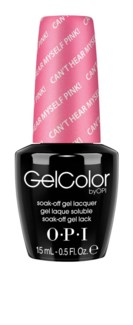 Can't Hear Myself Pink! Gelcolor BRIGH