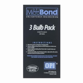 MicroBond 3pack Repl 9W Bulb