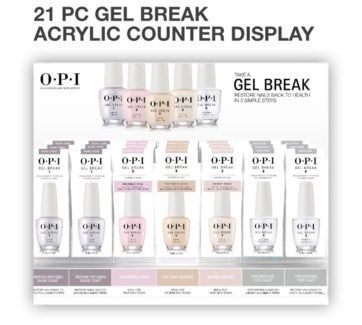 21pc Gel Break Counter Display SO16
