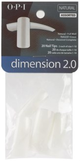 Size 7 Dimension 2.0 Nat Tip 20pk