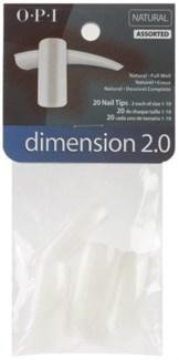 Asst 20pk Dimension 2.0 Nat Tip