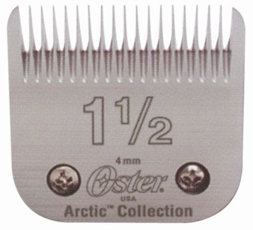 "SZ 1 1/2""(5/32"")Artic Stainless Blade"