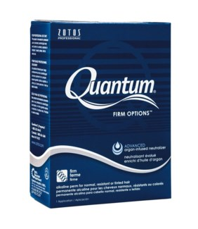 Quantum Firm Options Perm Blue