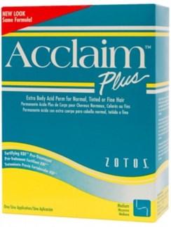 @ Acclaim Acid Plus Perm Extra Body