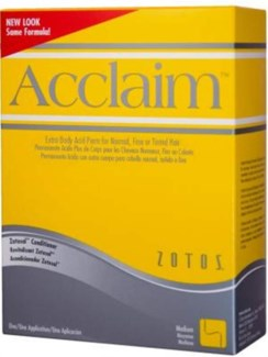 @ Acclaim Acid Perm Extra Body