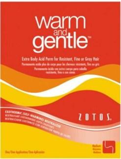 # Warm & Gentle Acid Perm X-tra Body
