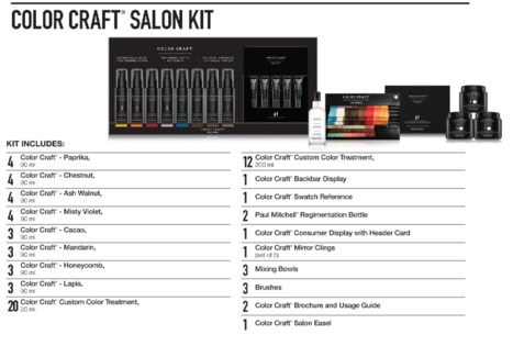 The COLOR CRAFT Large Salon KIT