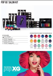 POP XG Salon Kit CHOOSE 24 COLOR