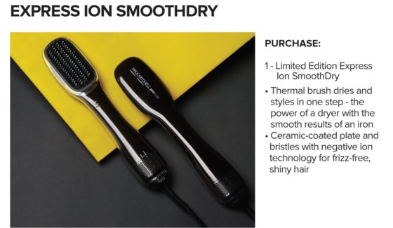 Express Ion SMOOTHDRY 2IN1 Brush MJ18