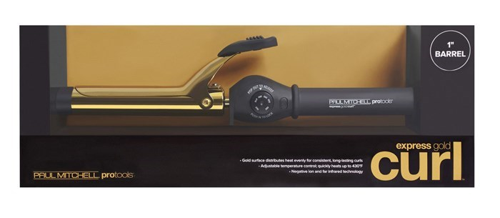 "Express Gold Curl 1"" Curling Iron GI10NA"