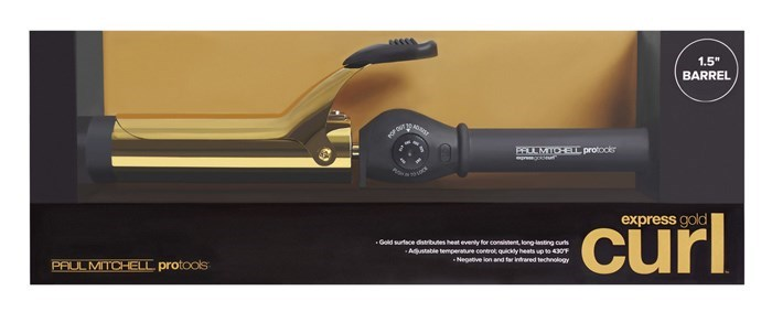 "Express Gold Curl 1.5"" Iron"