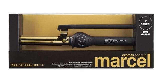 "Express Gold Curl 1"" MARCEL HANDLE"