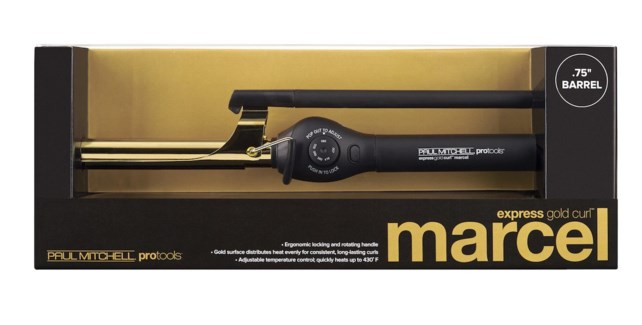 "Express Gold Curl .75"" MARCEL HANDLE"