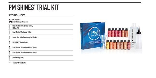 PM Shines Trial kit(20COLOR)