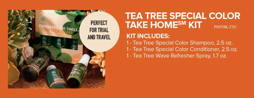 $ Tea Tree COLOR Take Home Kit PM