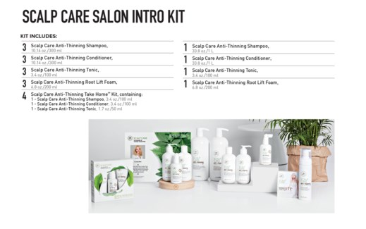 TEA TREE SCALP CARE SALON INTRO KIT PM