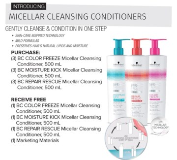 ! BC 500ml MICELLAR Cleanse Offer SO17