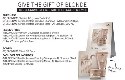 ! BM BLONDME Give The Gift Of Blond SO17