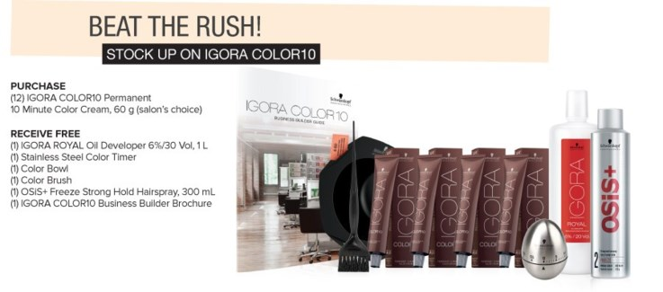 ! IG Beat The Rush BUY12 COLOR10 SO17