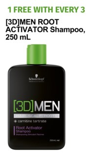 ! 3+1 3D MENSION ROOT ACTIVATOR Shampoo