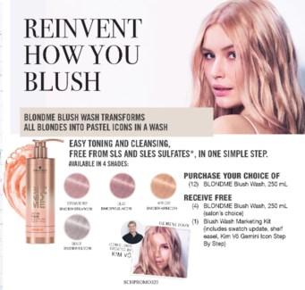 ! BM Blush Wash Marketing Kit BUY16 JA18
