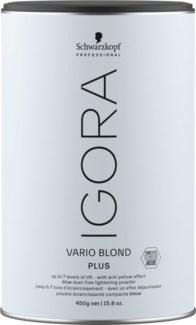 NEW IGORA Vario Blond Plus 450g