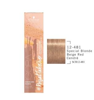 12-481 Blnd Beige Red Cendre RTO