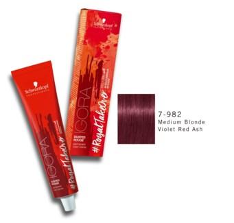7-982 Med Bld Violet Red Ash RTO